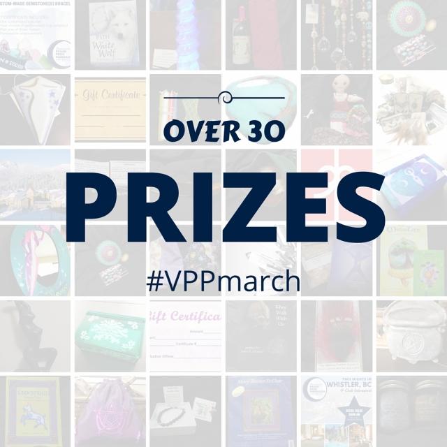 Prize sneak peak - teaser - vppmarch