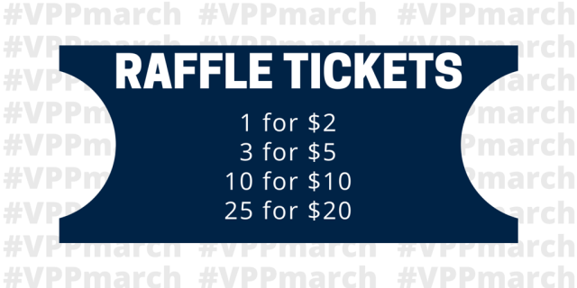 Raffle Ticket Pricing - VPPmarch