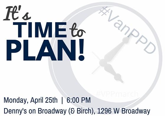 VanPPD 2016 Planning Meeting